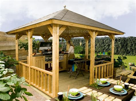 gazebo veranda lugarde gazebos verandas keops interlock log cabins