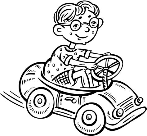 free coloring pages of toy race car