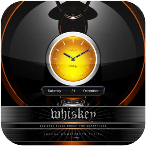 clock themes android mobile amazon com whiskey beautiful clock widget theme for