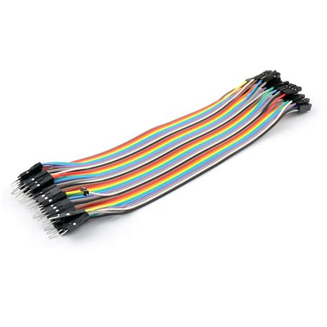 Cable Jumper 1 40pcs dupont wire jumper cables 20cm m m m f f f 1p 1p for arduino breadboard ebay