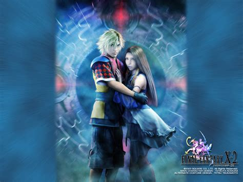 10 2 x 2 ffx 2 official wallpapers
