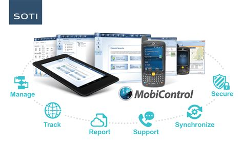 mobile device software soti mobicontrol mobile device management