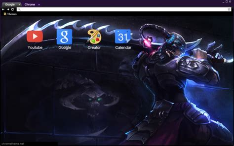 themes chrome league of legends master yi league of legends chrome theme themebeta