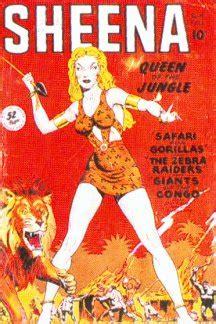 erbzine  sheena queen   jungle