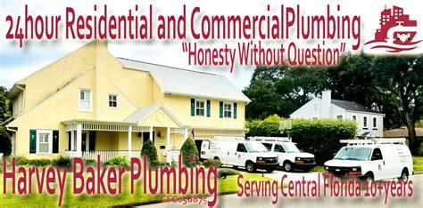 Plumbing Orlando Fl by Residential Commercial Plumber Harvey Baker Plumbing