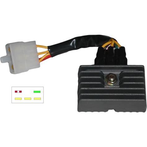 honda regulator rectifier wiring