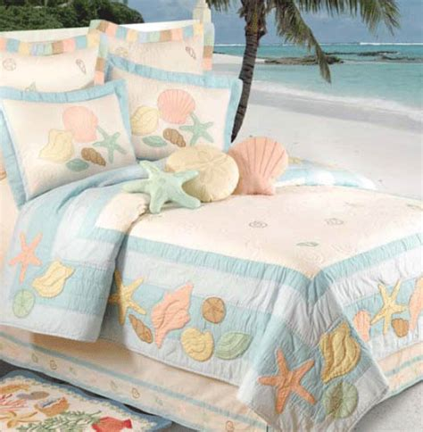 beach house bedding seashell bedding