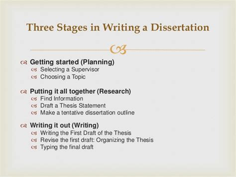 dissertation writing guide thesis writing guidelines