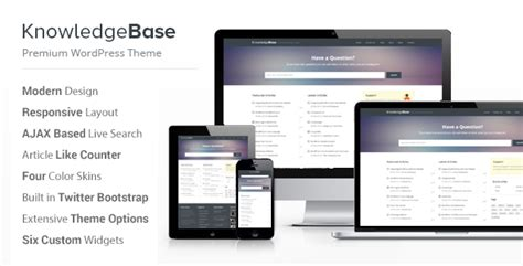 website templates for knowledge base 15 professional knowledge base and wiki wordpress themes