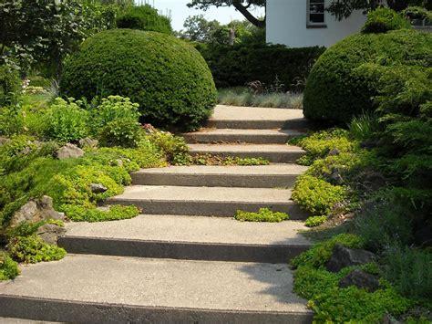 escalier pour jardin escalier paysager choix des mat 233 riaux ooreka
