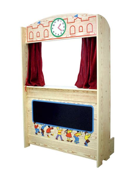 puppets set  stage  imagination theater  giggle