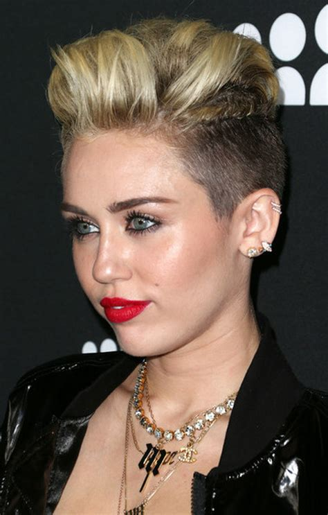 miley cyrus type haircuts miley cyrus diverse short hairstyles for spring 2015