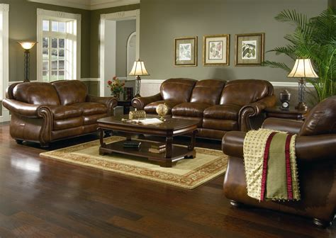 paint schemes for living room with dark furniture paint colors that go with dark brown leather furniture