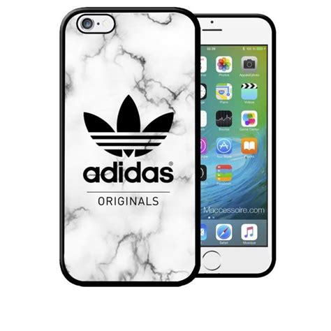 Coque Iphone 6 Adidas by Coque Iphone 6 6s Adidas Original Fond Marbre Sport Logo Swag Neuf Sous Blister Achat Coque