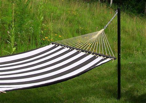 4 Post Hammock how to hang a hammock by sunnydaze decor