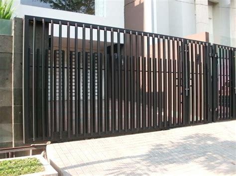 model pagar minimalis   rumah minimalis dekor rumah
