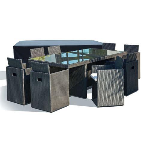 housse de protection table et chaises de jardin 1 salon