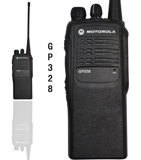 Motorola Walkie Talkie Tipe Gp328 motorola gp328 5w professional portable two way radio