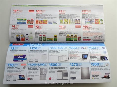 costco february  coupon book