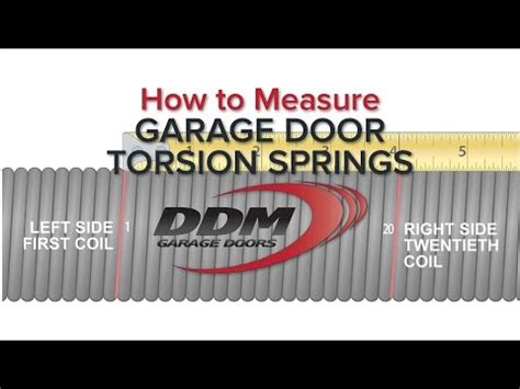 How To Weigh A Garage Door by Where To Purchase Torsion Springs At Thedoglogs