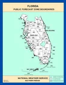 map southern florida maps southern florida zone forecast boundaries