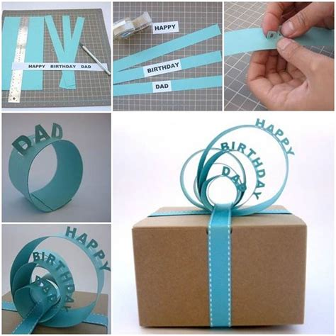 Handmade Gift Packing - diy creative 3d gift packaging