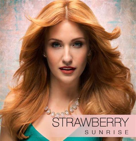 strawberry blonde formula kenra color blonde horizons in strawberry sunrise hair
