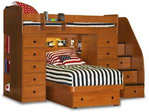 Double Bed Frame With Storage Canada 24 Designs Of Bunk Beds With Steps Kids Love These