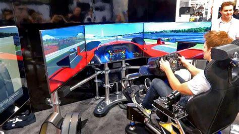 best rc sim 50 000 racing simulator thrustmaster t500rs ces 2013