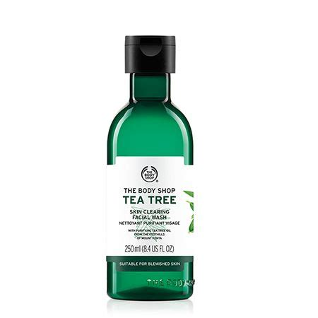Pelembab Tea Tree The Shop the shop tea tree skin clearing wash review autos post