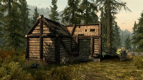 Mod Cabin by Anises Cabin Player House At Skyrim Nexus Mods And Community