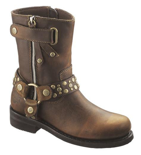 88355 harley davidson 174 womens vada brown mid cut boot