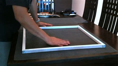 make window how to build a wooden window screen diy now youtube