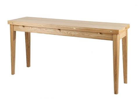 willis gambier spirit oak console dining table