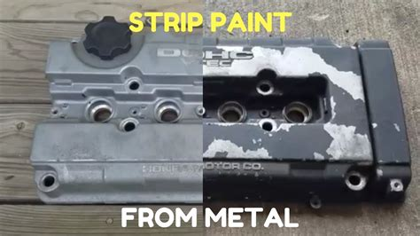 Painting Valve Cover by Remove Paint From Valve Cover Metal Easy Way