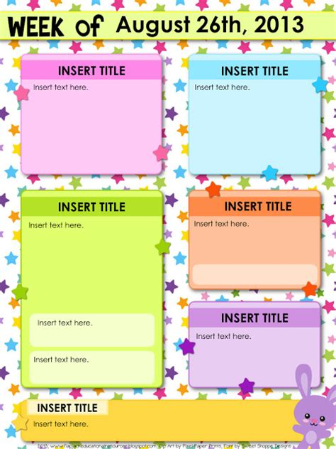 Editable Teacher Newsletter Template Templates Resume Exles Rmgy5j5gg9 Letter Editable Template