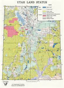 Blm Land Map Utah geography 3600