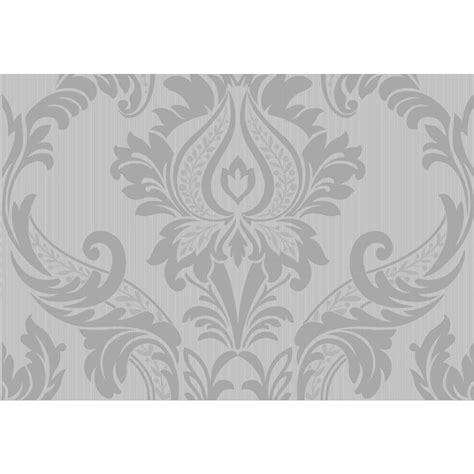 grey wallpaper wilkinsons wilko wallpaper best damask silver at wilko com
