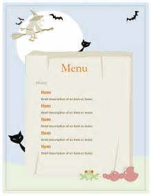 office menu template menu office templates
