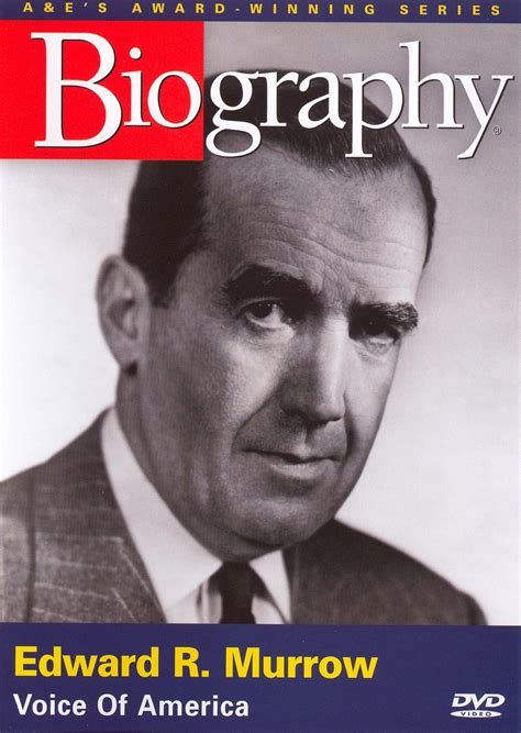 biography related movie biography edward r murrow voice of america