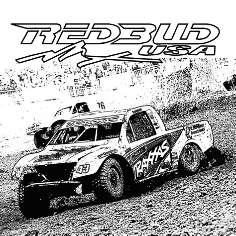 off road truck coloring page road racing colouring pages