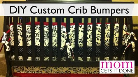 How To Make Your Own Baby Crib by How To Make Crib Bumpers Diy Simple