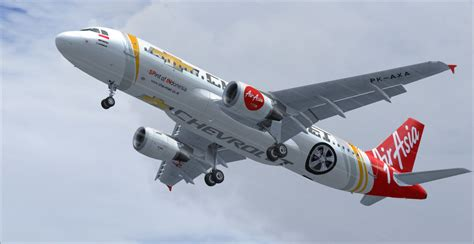 Air 2 Indo indonesia air asia airbus a320 200 pk axa 2 for fsx