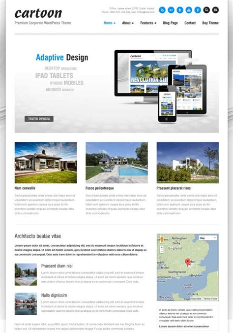 cartoon themes wordpress 20 best architecture wordpress themes for architects