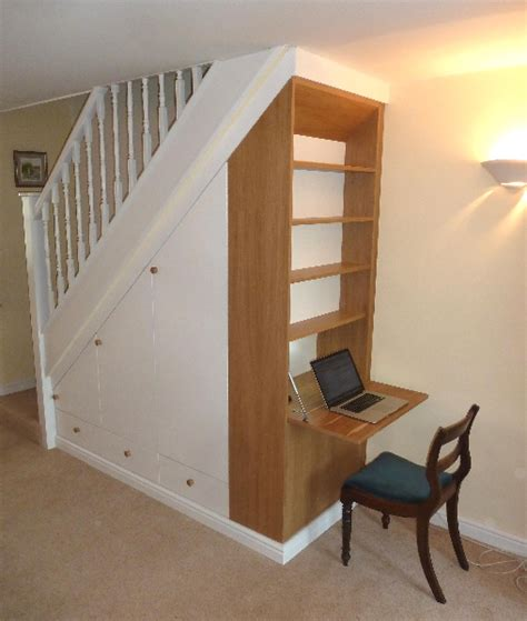 bespoke fitted home office furniture shelving solutions