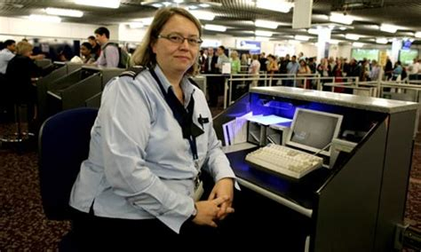Immigration Officer by A Working The Immigration Officer Money The Guardian