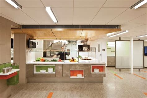 Kitchen Center Island by An In Focus Look At Friends Seminary Cafeteria