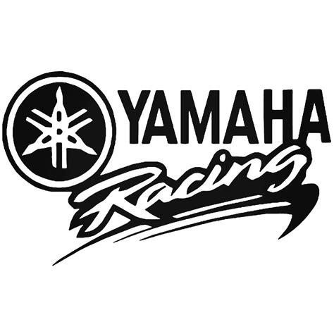 Aufkleber Yamaha Racing by Yamaha Racing Vinyl Decal Sticker