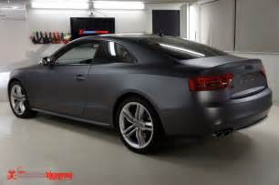 audi s5 matte grey metallic vinyl wrap stuff to buy