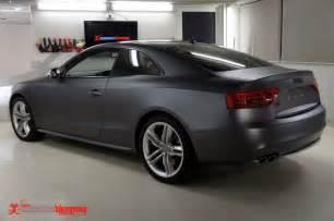 Audi S5 Matte Audi S5 Matte Grey Metallic Vinyl Wrap Stuff To Buy